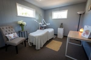 Natural Acne Clinic in Denver treatment room
